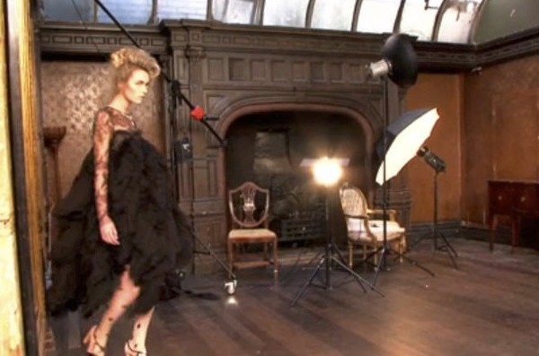 fashion shoot in London