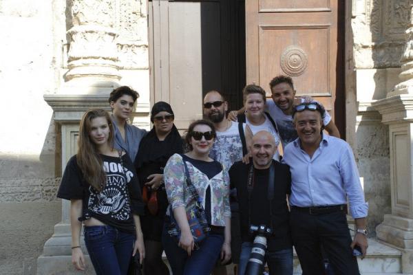 group shot after workshop